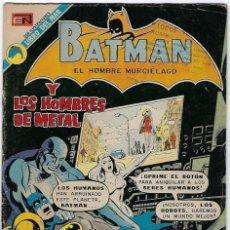 Tebeos: BATMAN - EL HOMBRE MURCIÉLAGO, AÑO XXI, Nº 693, AGOSTO 2 DE 1973 ***EDITORIAL NOVARO***. Lote 202984705