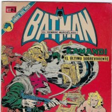 Tebeos: BATMAN - EL HOMBRE MURCIÉLAGO, AÑO XXI, Nº 691, JULIO 19 DE 1973 ***EDITORIAL NOVARO***. Lote 202984946