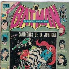 Tebeos: BATMAN - EL HOMBRE MURCIÉLAGO, AÑO XXI, Nº 676, ABRIL 5 DE 1973 ***EDITORIAL NOVARO***. Lote 202985193