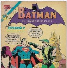 Tebeos: BATMAN - EL HOMBRE MURCIÉLAGO, AÑO XXI, Nº 667,FEBRERO 1º DE 1973 ***EDITORIAL NOVARO***. Lote 202985338
