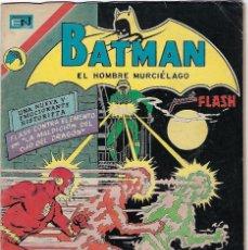 Tebeos: BATMAN - EL HOMBRE MURCIÉLAGO, AÑO XXI, Nº 665, ENERO 18 DE 1973 ***EDITORIAL NOVARO***. Lote 202985483