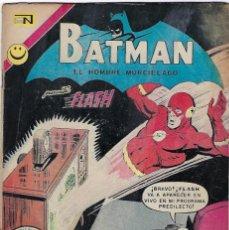 Tebeos: BATMAN - EL HOMBRE MURCIÉLAGO, AÑO XXI, Nº 653, OCTUBRE 26 DE 1972 ***EDITORIAL NOVARO***. Lote 202986021
