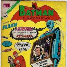 Tebeos: BATMAN - EL HOMBRE MURCIÉLAGO, AÑO XX, Nº 644, AGOSTO 24 DE 1972 ***EDITORIAL NOVARO***. Lote 202986531