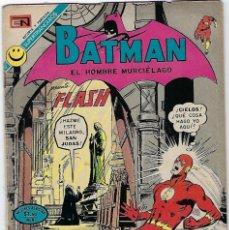 Tebeos: BATMAN - EL HOMBRE MURCIÉLAGO, AÑO XX, Nº 630, MAYO 18 DE 1972 ***EDITORIAL NOVARO***. Lote 202986953