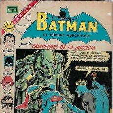 Tebeos: BATMAN - EL HOMBRE MURCIÉLAGO, AÑO XX, Nº 628, MAYO 4 DE 1972 ***EDITORIAL NOVARO***. Lote 202987351