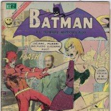 Tebeos: BATMAN - EL HOMBRE MURCIÉLAGO, AÑO XX, Nº 620, MARZO 9 DE 1972 ***EDITORIAL NOVARO***. Lote 202987501