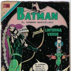Tebeos: BATMAN - EL HOMBRE MURCIÉLAGO, AÑO XX, Nº 614, ENERO 27 DE 1972 ***EDITORIAL NOVARO***. Lote 202987610