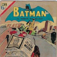 Tebeos: BATMAN - EL HOMBRE MURCIÉLAGO, AÑO XX, Nº 604, NOVIEMBRE 18 DE 1971 ***EDITORIAL NOVARO***. Lote 202987877