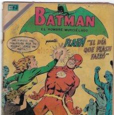 Tebeos: BATMAN - EL HOMBRE MURCIÉLAGO, AÑO XVIII, Nº 557, NOVIEMBRE 12 DE 1970 ***EDITORIAL NOVARO***. Lote 202988626