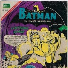 Tebeos: BATMAN - EL HOMBRE MURCIÉLAGO, AÑO XV, Nº 392, SEPTIEMBRE 14 DE 1969 ***EDITORIAL NOVARO***. Lote 202989228