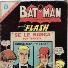 Tebeos: BATMAN - EL HOMBRE MURCIÉLAGO, AÑO XIV, Nº 353, DICIEMBRE 15 DE 1966 ***EDITORIAL NOVARO***. Lote 202989515