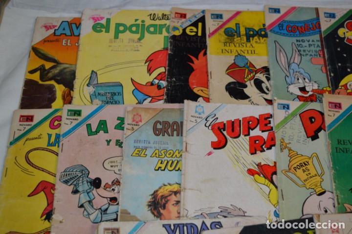 Tebeos: 22 Tebeos / Comics -- NOVARO / SEA -- Antiguos / Diferentes épocas, personajes y títulos - ¡Mira! - Foto 2 - 203274086