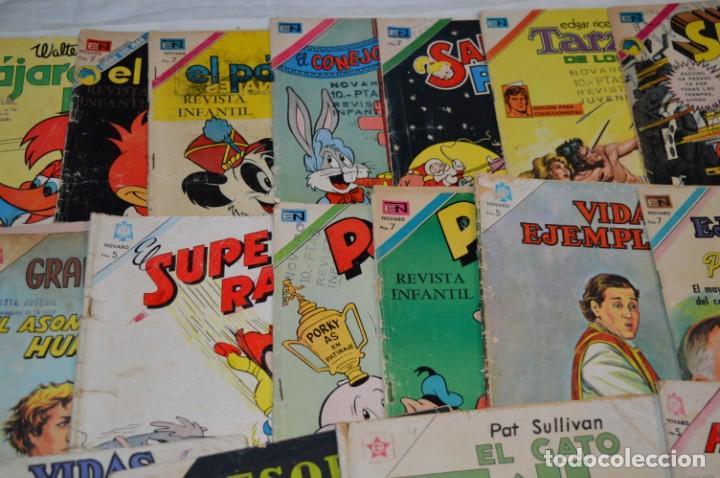 Tebeos: 22 Tebeos / Comics -- NOVARO / SEA -- Antiguos / Diferentes épocas, personajes y títulos - ¡Mira! - Foto 3 - 203274086