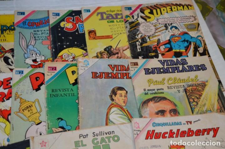 Tebeos: 22 Tebeos / Comics -- NOVARO / SEA -- Antiguos / Diferentes épocas, personajes y títulos - ¡Mira! - Foto 4 - 203274086