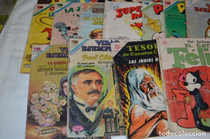 Tebeos: 22 Tebeos / Comics -- NOVARO / SEA -- Antiguos / Diferentes épocas, personajes y títulos - ¡Mira! - Foto 5 - 203274086