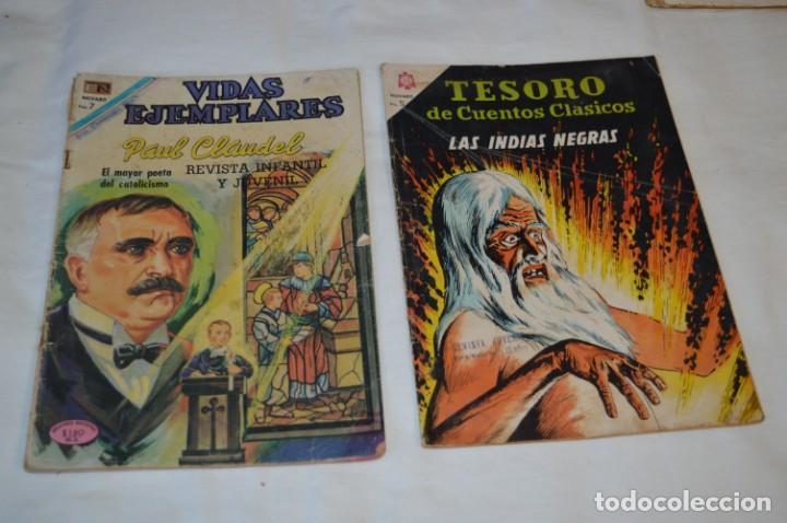 Tebeos: 22 Tebeos / Comics -- NOVARO / SEA -- Antiguos / Diferentes épocas, personajes y títulos - ¡Mira! - Foto 10 - 203274086