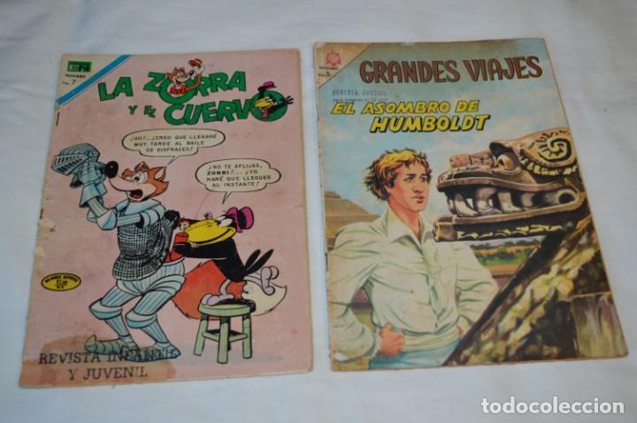 Tebeos: 22 Tebeos / Comics -- NOVARO / SEA -- Antiguos / Diferentes épocas, personajes y títulos - ¡Mira! - Foto 18 - 203274086