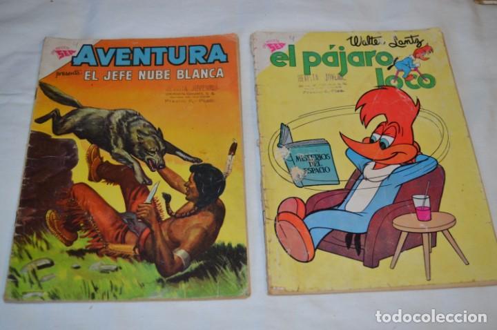 Tebeos: 22 Tebeos / Comics -- NOVARO / SEA -- Antiguos / Diferentes épocas, personajes y títulos - ¡Mira! - Foto 28 - 203274086