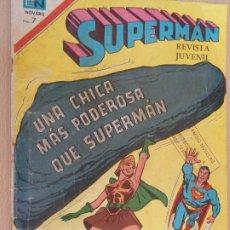 Tebeos: SUPERMAN Nº 850. NOVARO 1972.. Lote 203286905