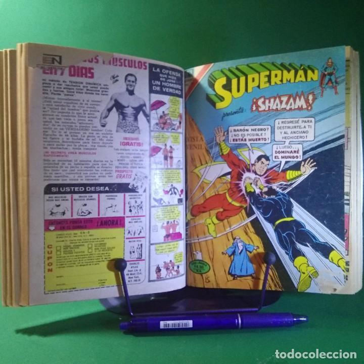 11 COMIC SUPERMAN-BATMAN-EL FANTASMA - NOVARO (ENCUADERNADO) (Tebeos y Comics - Novaro - Otros)