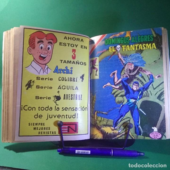 Tebeos: 11 COMIC SUPERMAN-BATMAN-EL FANTASMA - NOVARO (ENCUADERNADO) - Foto 2 - 203339241