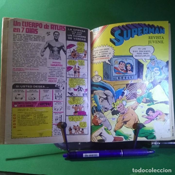 Tebeos: 11 COMIC SUPERMAN-BATMAN-EL FANTASMA - NOVARO (ENCUADERNADO) - Foto 3 - 203339241