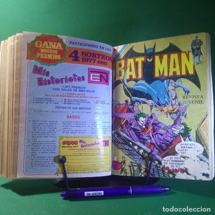 Tebeos: 11 COMIC SUPERMAN-BATMAN-EL FANTASMA - NOVARO (ENCUADERNADO) - Foto 5 - 203339241