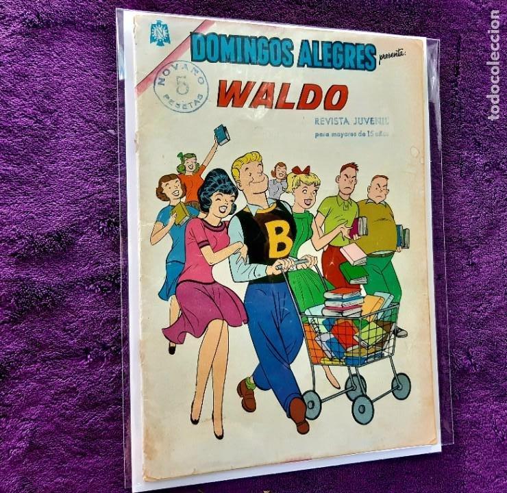 DOMINGOS ALEGRES Nº 614 MUY DIFICIL (Tebeos y Comics - Novaro - Domingos Alegres)
