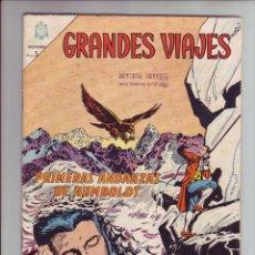 Tebeos: GRANDES VIAJES - Nº22 - PRIMERAS ANDANZAS DE HUMBOLDT - ED. NOVARO - AÑO 1964. Lote 203406528