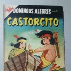 Giornalini: DOMINGOS ALEGRES N° 162 - CASTORCITO! - ORIGINAL EDITORIAL NOVARO. Lote 203430931