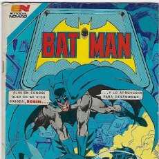 Livros de Banda Desenhada: BATMAN - SERIE AVESTRUZ - AÑO I - Nº 3-12, NOVIEMBRE 13 DE 1981 ***EDITORIAL NOVARO MEXICO***. Lote 203994428