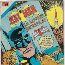 Tebeos: BATMAN - SERIE AVESTRUZ - AÑO I - Nº 3-6, MAYO 26 DE 1981 ***EDITORIAL NOVARO MEXICO***. Lote 203995395