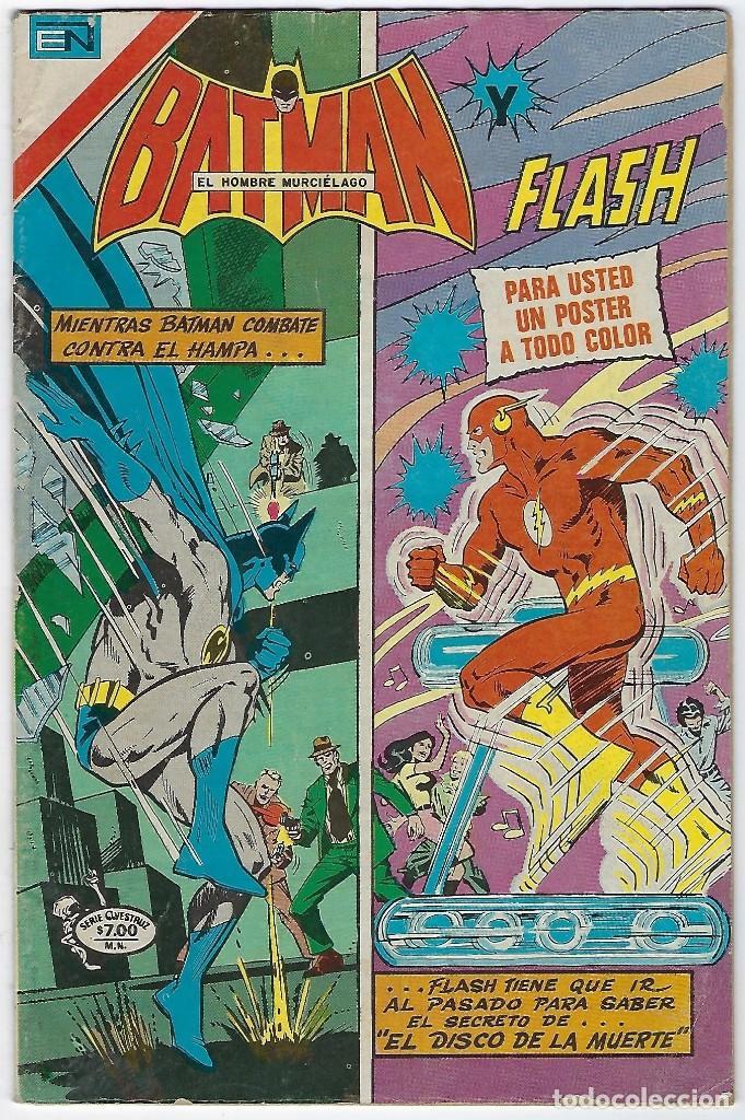 BATMAN - SERIE AVESTRUZ - AÑO I - Nº 3-4, ABRIL 1º DE 1981 ***EDITORIAL NOVARO MEXICO*** (Tebeos y Comics - Novaro - Batman)