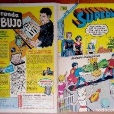 Tebeos: SUPERMAN #647 - NOVARO 1968 - LEGION DE SUPER-HEROES - SPANISH MEXICAN COMIC. Lote 204011705