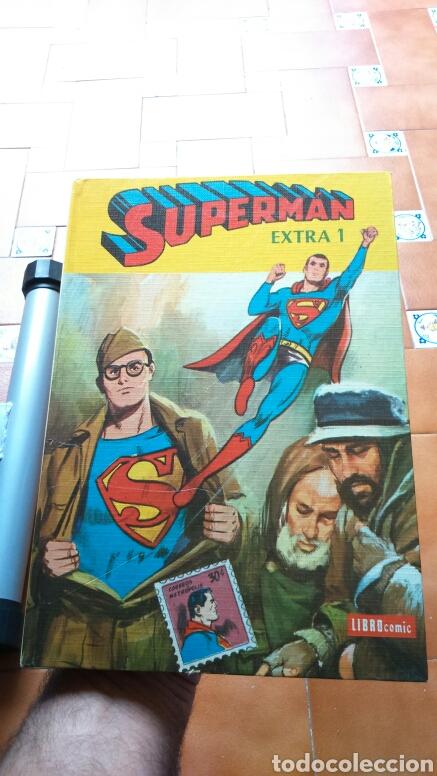 SUPERMAN EXTRA 1 EDITORIAL NOVARO LIBRO COMIC BUEN ESTADO (Tebeos y Comics - Novaro - Superman)
