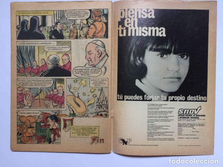 Tebeos: Cómic: JUAN XXIII (Edit. Novaro -México-) 1968, nº 273 ¡ORIGINAL! ¡Coleccionista! - Foto 4 - 204103910