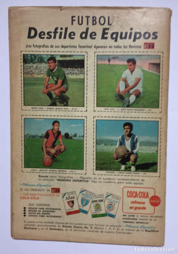 Tebeos: Cómic: JUAN XXIII (Edit. Novaro -México-) 1968, nº 273 ¡ORIGINAL! ¡Coleccionista! - Foto 5 - 204103910