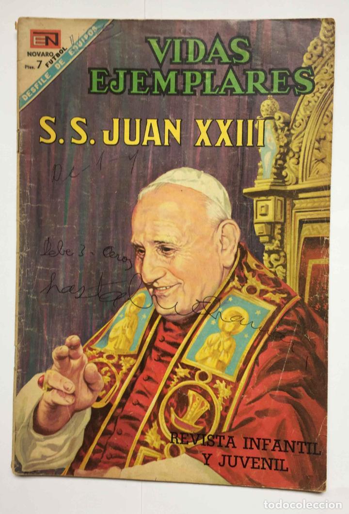 CÓMIC: JUAN XXIII (EDIT. NOVARO -MÉXICO-) 1968, Nº 273 ¡ORIGINAL! ¡COLECCIONISTA! (Tebeos y Comics - Novaro - Vidas ejemplares)