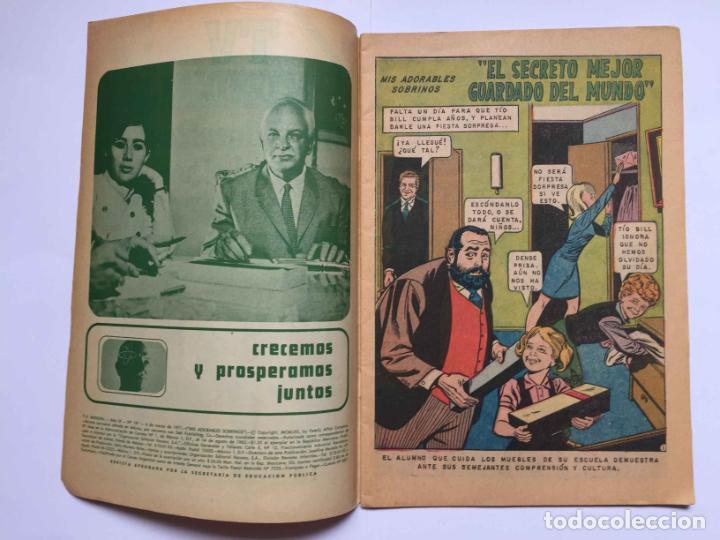 Tebeos: Cómic: MIS ADORABLES SOBRINOS (Edit. Novaro -México-) 1971, nº 191 ¡ORIGINAL! ¡Coleccionista! - Foto 2 - 204104686