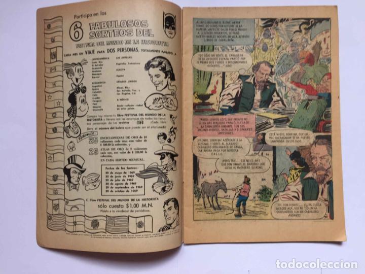 Tebeos: Cómic: RAMÓN MENÉNDEZ PIDAL (Edit. Novaro -México-) 1969, nº 215 ¡ORIGINAL! ¡Coleccionista! - Foto 2 - 204104866