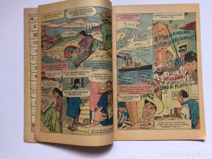 Tebeos: Cómic: RAMÓN MENÉNDEZ PIDAL (Edit. Novaro -México-) 1969, nº 215 ¡ORIGINAL! ¡Coleccionista! - Foto 3 - 204104866