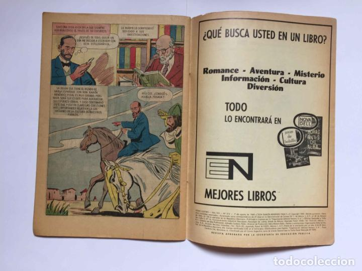 Tebeos: Cómic: RAMÓN MENÉNDEZ PIDAL (Edit. Novaro -México-) 1969, nº 215 ¡ORIGINAL! ¡Coleccionista! - Foto 4 - 204104866