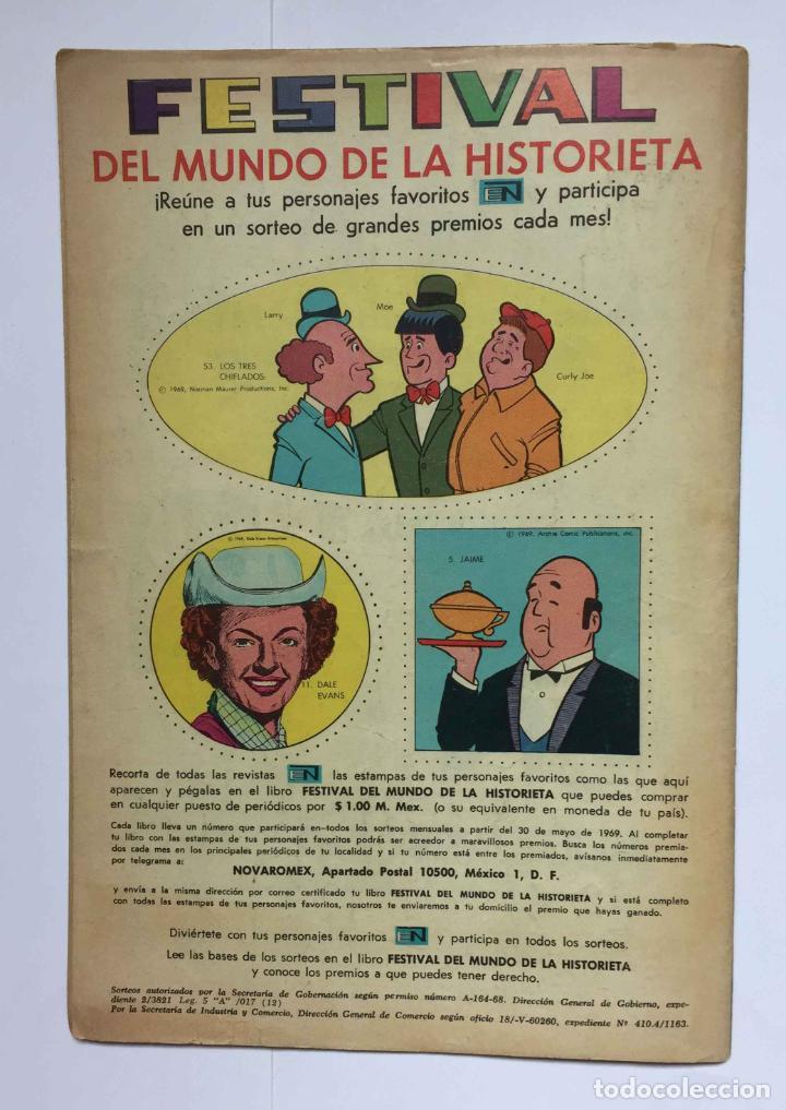 Tebeos: Cómic: RAMÓN MENÉNDEZ PIDAL (Edit. Novaro -México-) 1969, nº 215 ¡ORIGINAL! ¡Coleccionista! - Foto 5 - 204104866