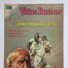 Tebeos: CÓMIC: RAMÓN MENÉNDEZ PIDAL (EDIT. NOVARO -MÉXICO-) 1969, Nº 215 ¡ORIGINAL! ¡COLECCIONISTA!. Lote 204104866