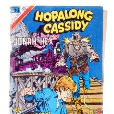 Tebeos: HOPALONG CASSIDY JONAH HEX 310. EL DINAMITERO (MICHELINIE / ALCÁZAR) NOVARO, 1979. SERIE ÁGUILA. Lote 204317035