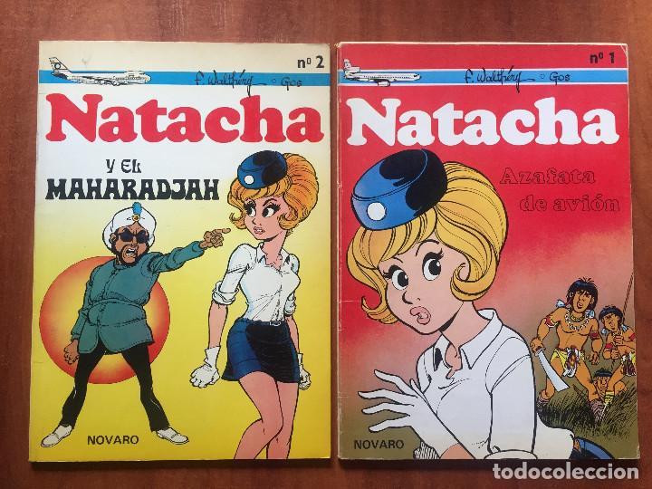 NATACHA (Tebeos y Comics - Novaro - Aventura)