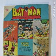 Tebeos: BATMAN-EL HOMBRE MURCIELAGO-COMIC NUMERO EXTRAORDINARIO-EDICIONES NOVARO-VER FOTOS-(V-20.121). Lote 204834673