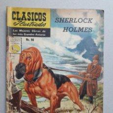 Tebeos: CLASICOS ILUSTRADOS N° 96 - SHERLOCK HOLMES - ORIGINAL EDITORIAL LA PRENSA. Lote 204984618