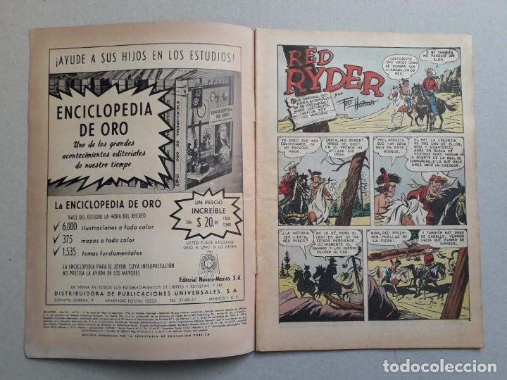 Tebeos: Red Ryder n° 91 - original editorial Novaro - Foto 2 - 204987693