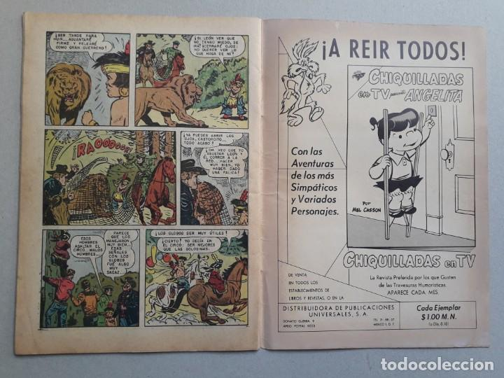 Tebeos: Red Ryder n° 91 - original editorial Novaro - Foto 3 - 204987693